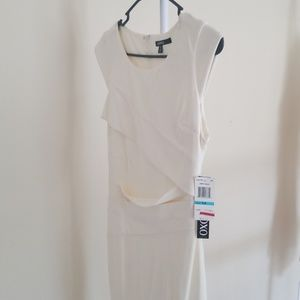 XOXO Cream/Ivory Color Dress